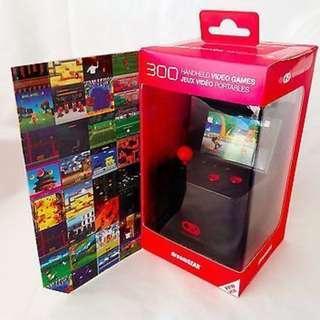 全新 迷你復古街機 My Arcade 內置300款遊戲 美國新款 Dreamgear Micro Arcade