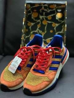 "hot sale online 86b8b 86702 Adidas ZX-500 x Dragon Ball Z ""Son Goku"" Size 8.5 UK"