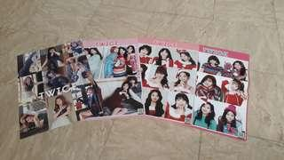 Twice! Posters all members (1 poster or set of 4)