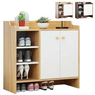 WINO/MY5*V 多功能木质鞋架.