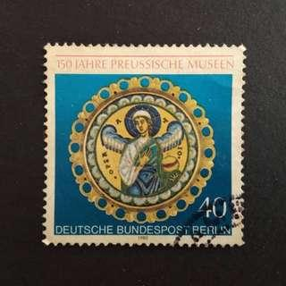 Deutsche Bundespost Berlin used old stamp