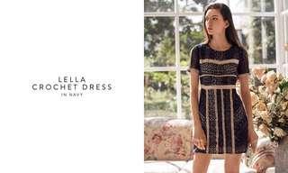 🚚 TCL Lella Crotchet Dress