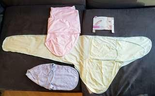 Swaddle Miracle Blanket x 2