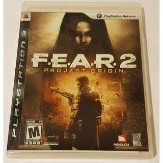 PS3 Fear 2 Project Origin (R1)