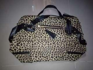Leopard Printed Hand Bag