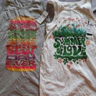 Brand new sleeveless tops
