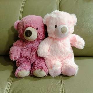 Pastel coloured Teddy Bear
