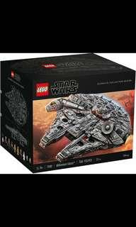 *Ready stock* Lego 75192 Millennium Falcon  Sealed, come with the outer brown carton box