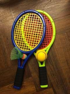 Kids tennis/ shutter racquets