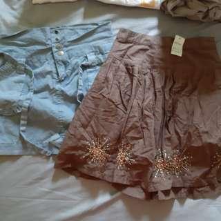 Brand new skirts