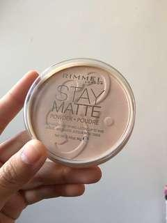 Rimmel Stay Matte Powder #new99