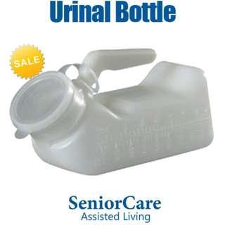 Portable Plastic Urinal Jug Bottle Container