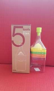 Multifunctional bottle