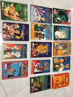 Disney storybooks (by Ladybird)