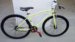 ERICO Fixie 700c Bicycle with flip flop rims