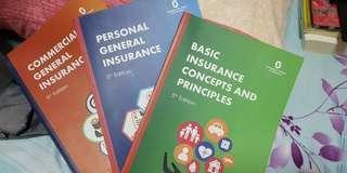 BCP, PGI, ComGI Books (Insurance Books)