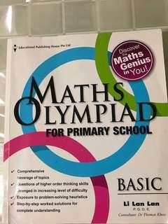 Maths Olympiad book