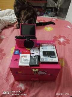 🚚 Casio EX-ZR1200 kitty 40週年限定相機 粉 桃色