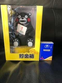 包順豐寄付熊本熊錢箱 kumamon
