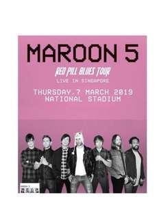 Maroon 5 Tickets $225 each $400 for 2