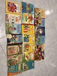 Storybooks (by Enid Blyton, Ladybird etc.)