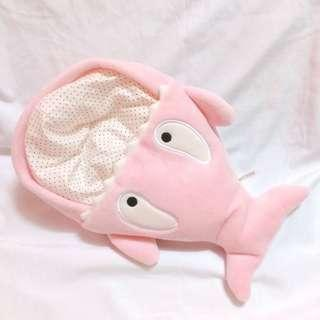 SFY Pink Whale Doll Bag