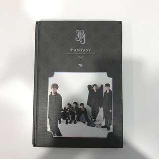 JBJ Fantasy Volume I-I Album and Folded Poster