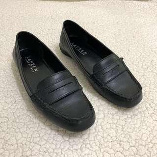 Ralph Lauren Black Leather Shoes