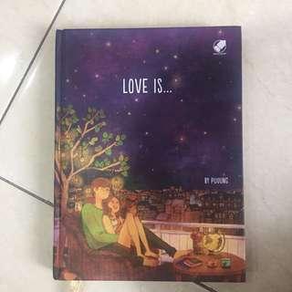 Buku love is by puuung