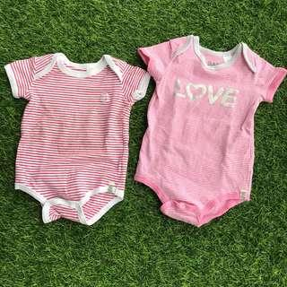 Cotton On Baby Rompers (2pcs)