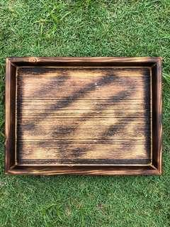 Handmade Wooden Vintage Tray