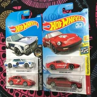 Hot Wheels JDM lot
