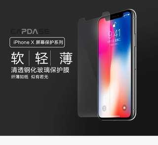 iPhone X Ultra Clear Tempered Glass Screen Protector