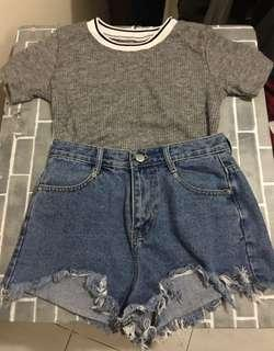 Knitted croptop