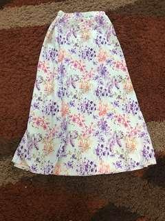 Floral A-Skirt