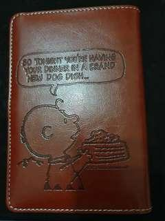 Brown Snoopy's notebook