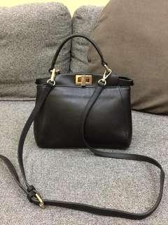 Fendi slingbag size 25