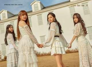 """[EMS PO] GFRIEND THE 2nd """"Time for Us"""""""