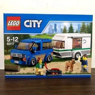 60117 - LEGO City Van & Caravan