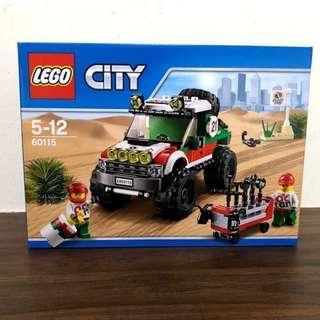 60115 - LEGO City 4 x 4 Off Roader