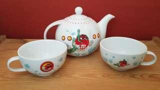 M & M Tea Set