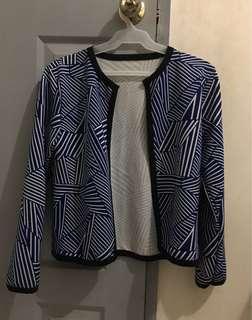 Blue stripe blazer❤️