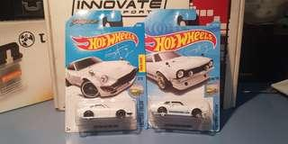 Hot wheels Sung Kang Set Datsun Fairlady 240z & Ford Maverick