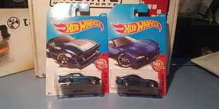 Hot Wheels Mazda RX-7 Then and Now Set