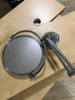 🚚 衛浴設備配件/伸縮可放大雙面鏡