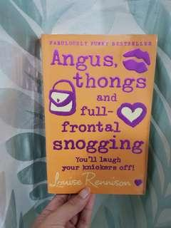 Angus, thongs, and full frontal snugging book