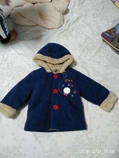 Hallmark jacket 6-12m