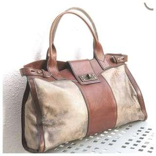 Fossil Leather Bag (Long Live Vintage 1954)