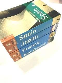Rough Guides: Spain, Japan, France, New Zealand