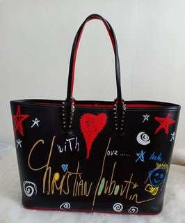 Authentic Christian Louboutin Cabata Tote